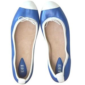 Bloch Blue Symphony White Leather Ballet flat 38/7
